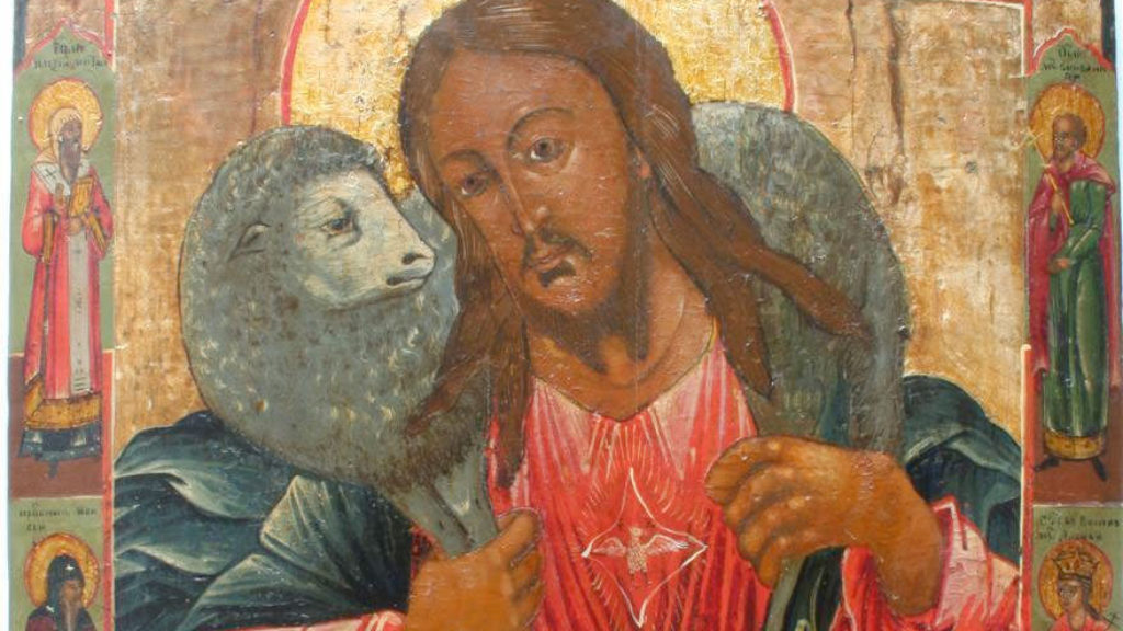 Jesus Christus als guter Hirte