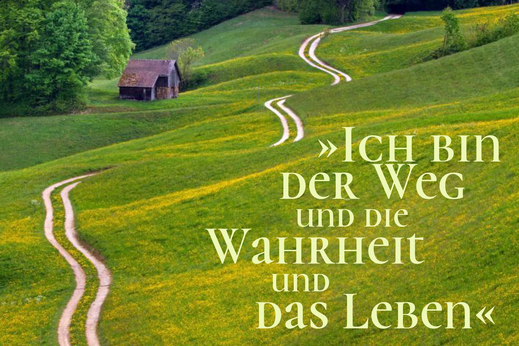 »Ich bin der Weg und die Wahrheit und das Leben.«