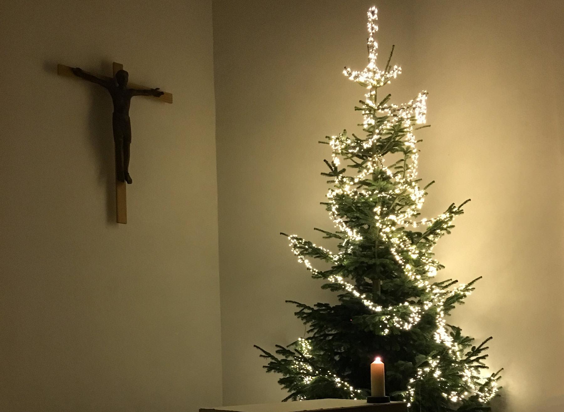 Weihnachten in der Kirche