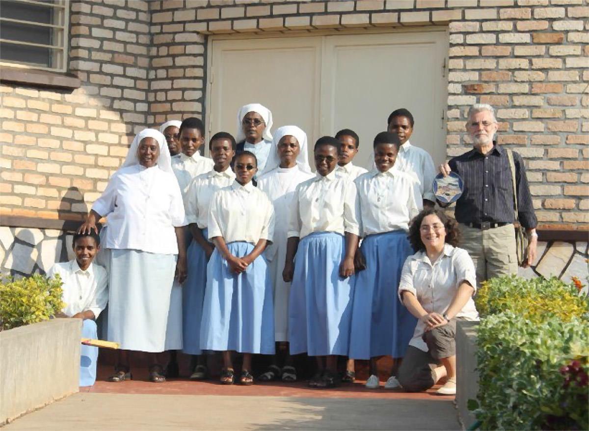 Pastor Alefelder in Ruanda
